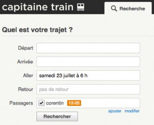 Logo de la startup Capitaine Train