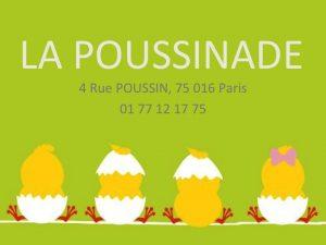 Logo de la startup [Co-Working] La Poussinade