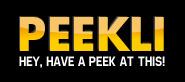 Logo de la startup Peekli