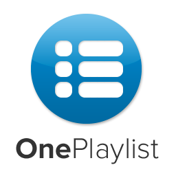 Logo de la startup OnePlaylist