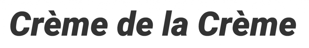Logo de la startup Crème de la Crème