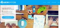 Logo de la startup Webemyos