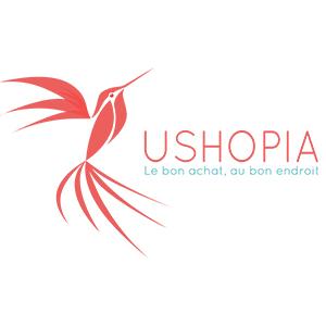 Logo de la startup USHOPIA