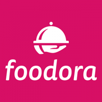 Logo de la startup foodora