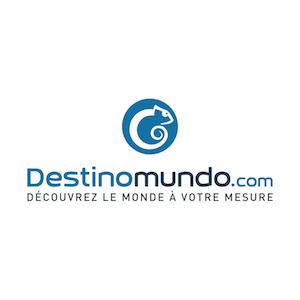 Logo de la startup DestinoMundo