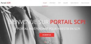 Logo de la startup Portail SCPI