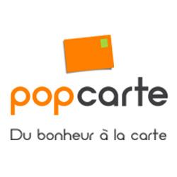 Logo de la startup Popcarte