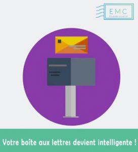 Logo de la startup La boite aux lettres connectée
