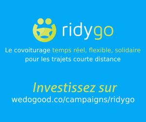 Logo de la startup Ridygo