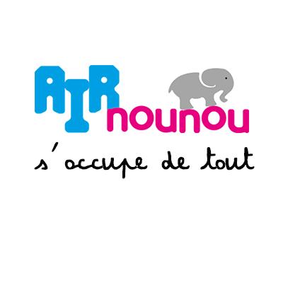 Logo de la startup AirNounou : le jour où on a oublié notre fils à l'école