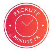 Logo de la startup Recrute Minute