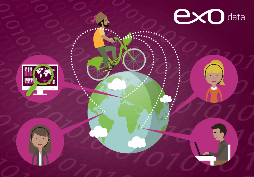 Logo de la startup EXODATA