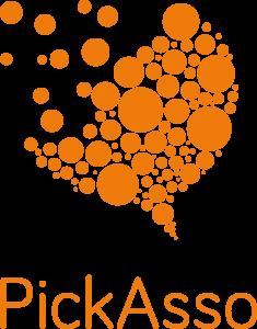 Logo de la startup PickAsso, donnons de la voix aux associations !