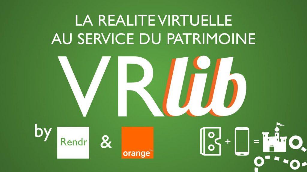 Logo de la startup VRlib' par Rendr