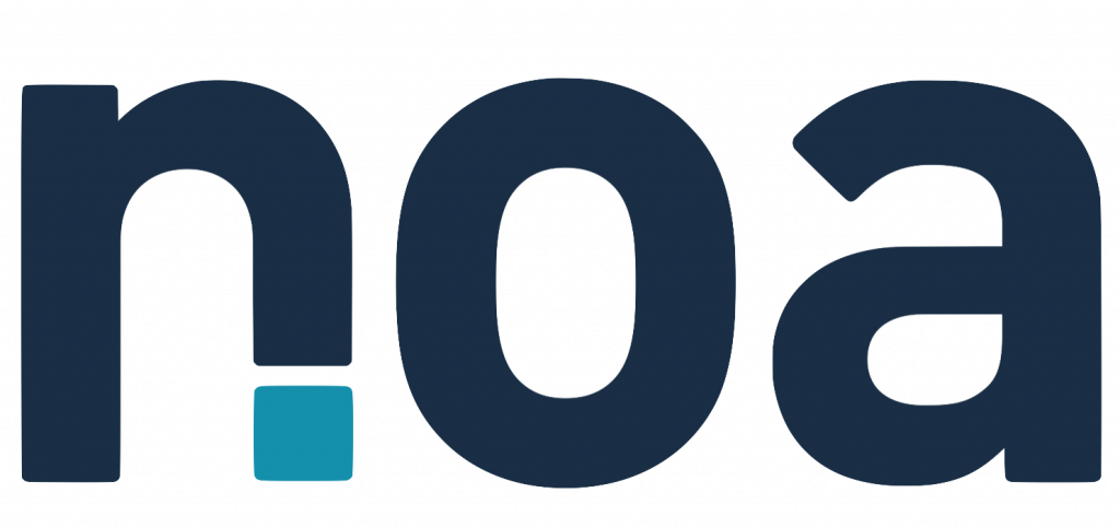 Logo de la startup NOA