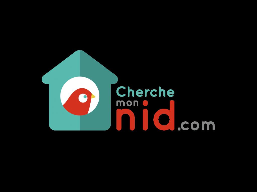 Logo de la startup cherche mon nid