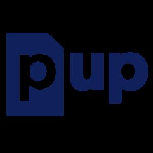 Logo de la startup Pup : le scanner de poche connecté