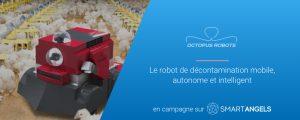 Logo de la startup Octopus Robots lève des fonds pour lancer sa phase d'industrialisation
