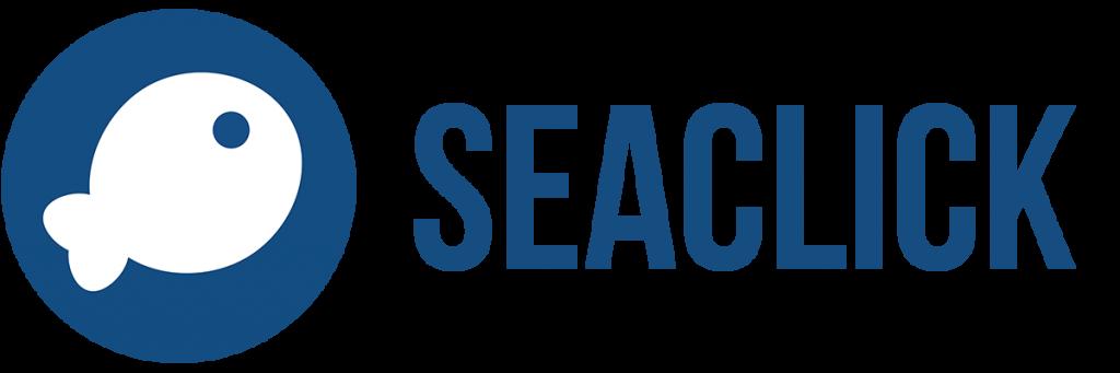 Logo de la startup seaclick, des milliers de loisirs autour de vous