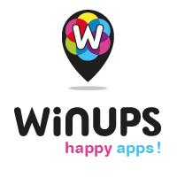Logo de la startup Winups, verrouille ton portable et gagne des offres exclusives !