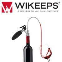 Logo de la startup Wikeeps au service du Vin