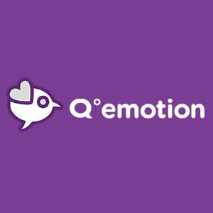 Logo de la startup Q°emotion
