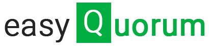 Logo de la startup easyQuorum