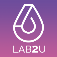 Logo de la startup LAB2U
