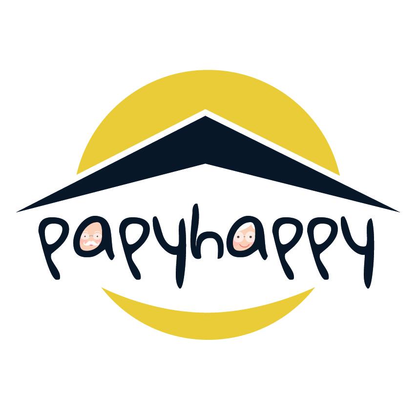 Logo de la startup PAPYHAPPY