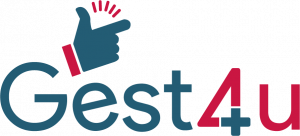 Logo de la startup Gest4u - Solution de gestion intelligente - Gérer votre activité d'un claquement de doigt