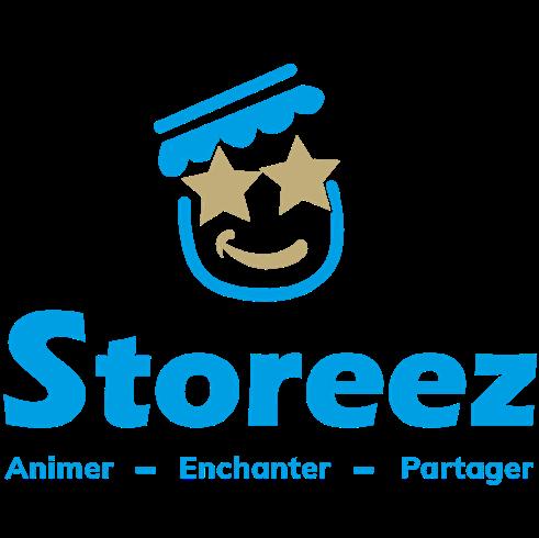 Logo de la startup Créer du lien social dans les points de vente grâce à l'animation, c'est notre raison d'exister chez Storeez