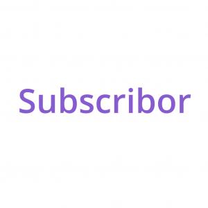 Logo de la startup Subscribor