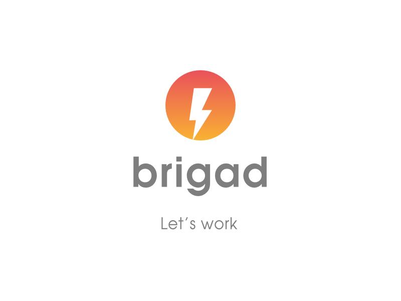 Logo de la startup Brigad, le service qui permet de trouver des extras dans le secteur de l'hôtellerie - restauration