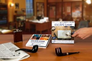 Logo de la startup Accélérée à StationF, la start-up Live Escape Box propose les premiers coffrets cadeaux Escape Game