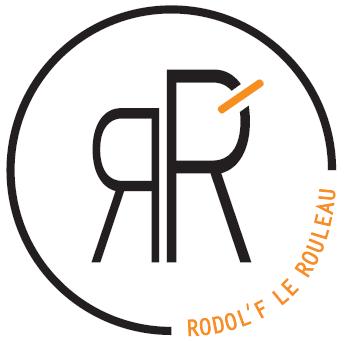 Logo de la startup rodol'f le rouleau
