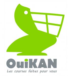 Logo de la startup OuiKAN, les courses faites pour vous