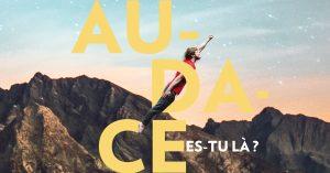 """Logo de la startup UP Fest """"Audace es-tu là ?"""" (4ème édition)"""