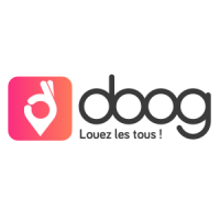 Logo de la startup Doog, l'appli qui rend la location d'objets plus simple que l'achat !