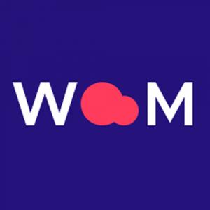 Logo de la startup WOOM