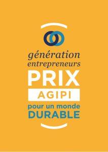 Logo de la startup Génération Entrepreneurs, Prix AGIPI pour un monde durable