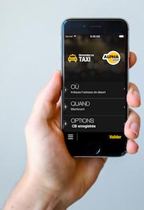 Logo de la startup Alpha Taxis