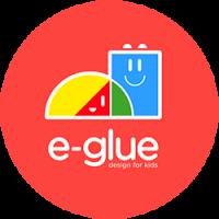 Logo de la startup E-GLUE - Design Enfant