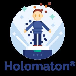 Logo de la startup Holomaton®