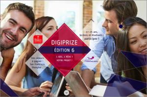 Logo de la startup concours Digiprize