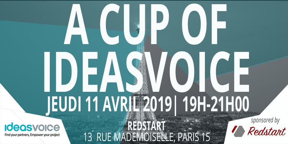 Logo de la startup IdeasVoice