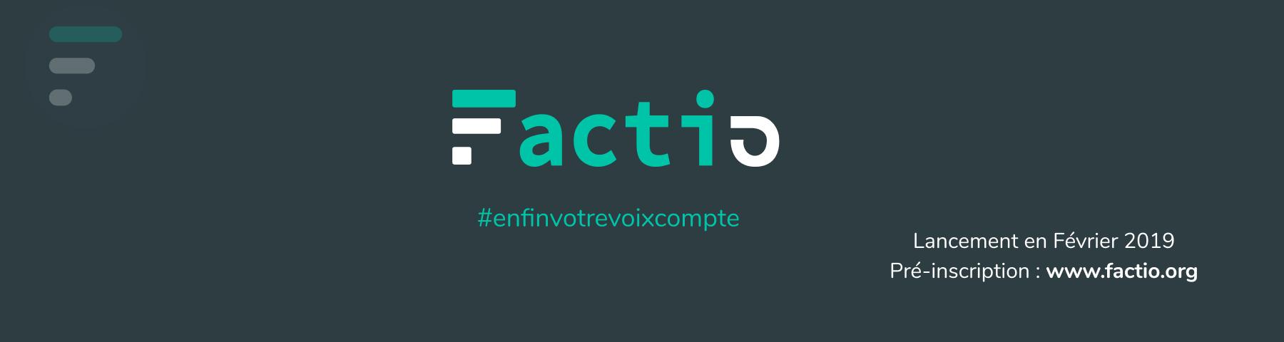 Logo de la startup Factio