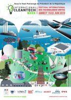 Logo de la startup 2e édition de l'International CleanTech Week du du 19 au 22 juin 2019 à Annecy