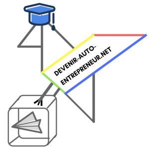 Logo de la startup Devenir-auto-entrepreneur net