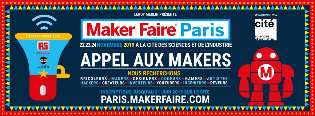 Logo de la startup Maker Faire Paris
