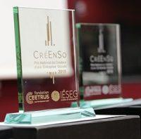 Logo de la startup Prix CRÉENSO – Prix national du Créateur d'une Entreprise Sociale